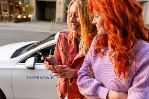 Share Now Mietwagen Expedientenermäßigung